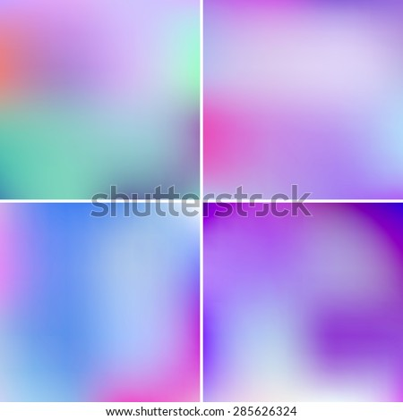 abstract vector blurry