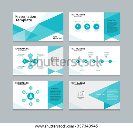 Business presentation download free vector art stock graphics abstract vector business presentation template slides background design fo graphic accmission