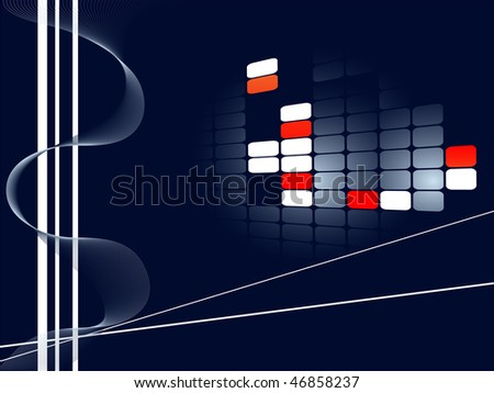 abstract vector business template for your company presentation