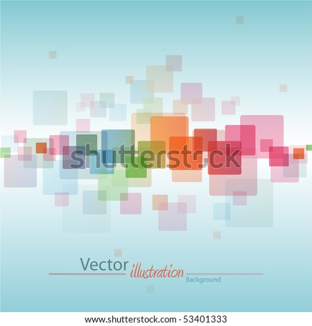 Abstract vector color background