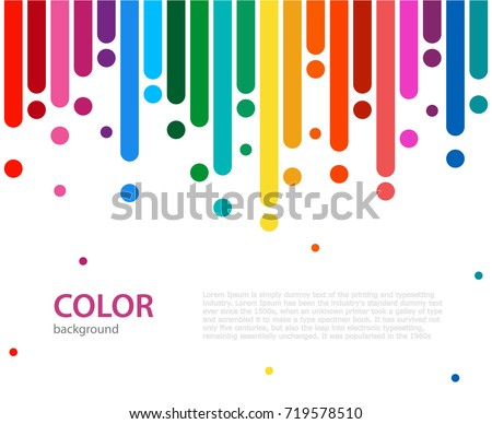 abstract vector color