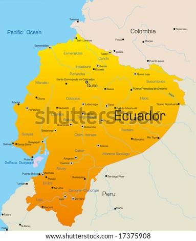 physical maps of ecuador. map of ecuador. map of Ecuador