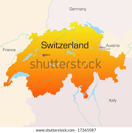 Map Of France Germany Switzerland.Free Switzerland Map Vector Download Free Vector Art Stock