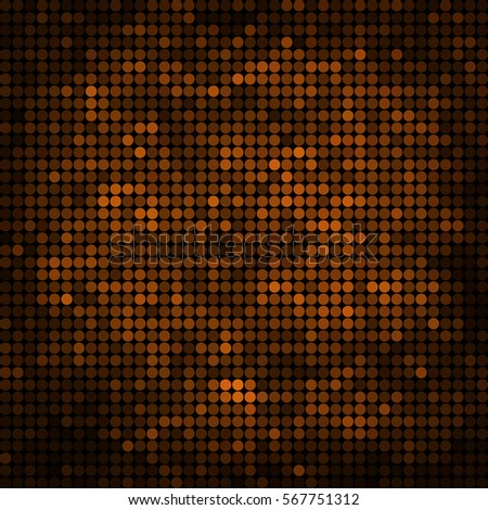 abstract vector colored round
