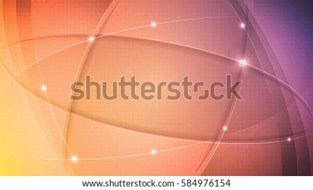 Abstract vector colorful illustration, banner or wallpaper with glitter and place for your text.