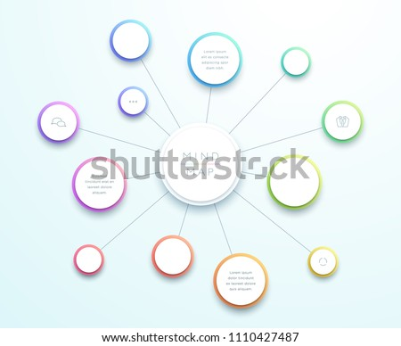 abstract vector 3d large mind