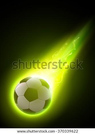 abstract vector football soccer