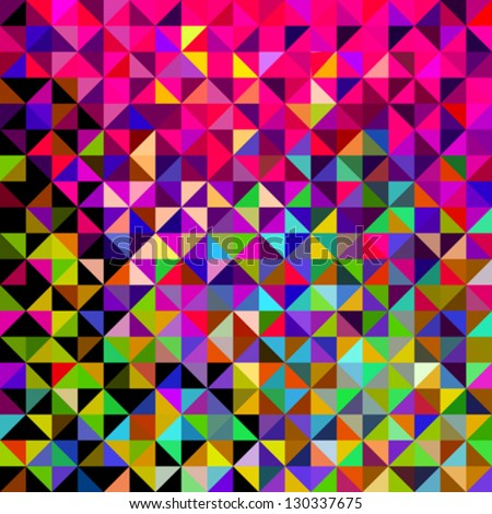 abstract vector geometric color