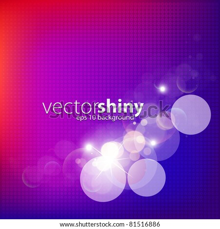 abstract vector glittering
