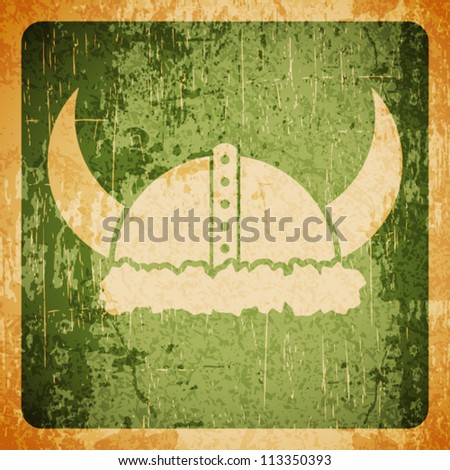 Abstract vector grunge background - - stock vector
