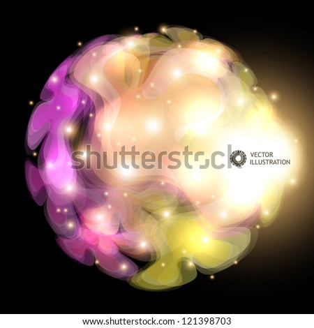 Abstract vector illustration.