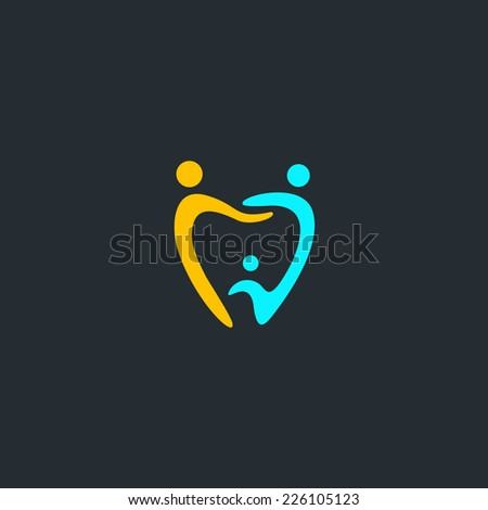 Dental Logo Dental Medical Logo