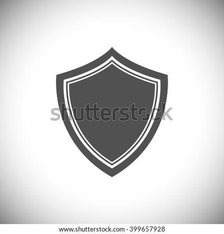 Abstract vector illustration - shield