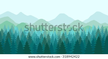 abstract vector image of a