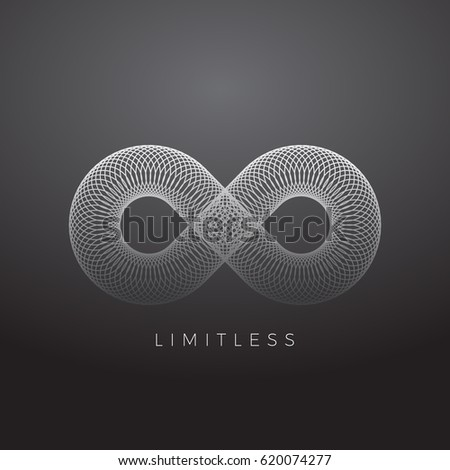 abstract vector infinity symbol
