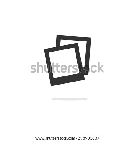 abstract vector instant photo