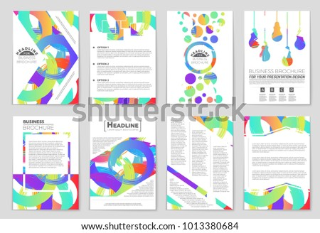 book cover page template design vector download free vector art