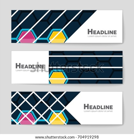 Abstract vector layout background set. For art template design, list, front page, mockup brochure theme style, banner, idea, cover, booklet, print, flyer, book, blank, card, ad, sign, sheet, a4. #704919298