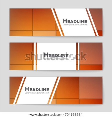 Abstract vector layout background set. For art template design, list, front page, mockup brochure theme style, banner, idea, cover, booklet, print, flyer, book, blank, card, ad, sign, sheet, a4. #704938384