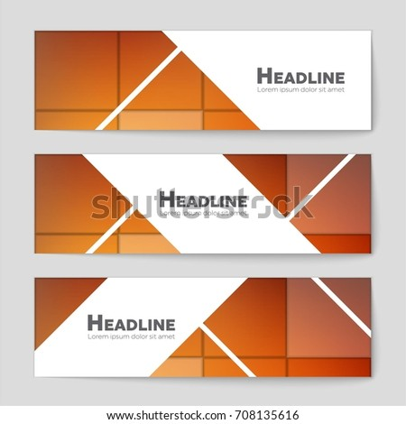 Abstract vector layout background set. For art template design, list, front page, mockup brochure theme style, banner, idea, cover, booklet, print, flyer, book, blank, card, ad, sign, sheet, a4. #708135616