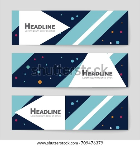 Abstract vector layout background set. For art template design, list, front page, mockup brochure theme style, banner, idea, cover, booklet, print, flyer, book, blank, card, ad, sign, sheet, a4 #709476379