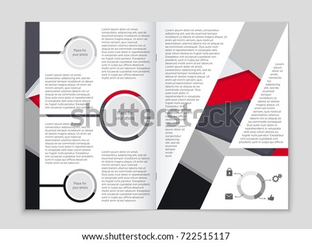 Abstract vector layout background set. For art template design, list, front page, mockup brochure theme style, banner, idea, cover, booklet, print, flyer, book, blank, card, ad, sign, sheet,, a4. #722515117