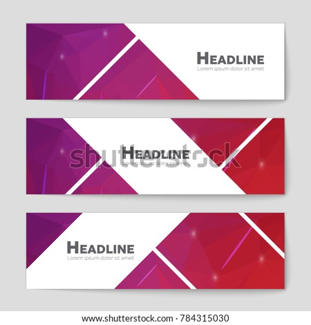 Abstract vector layout background set. For art template design, list, front page, mockup brochure theme style, banner, idea, cover, booklet, print, flyer, book, blank, card, ad, sign, sheet, a4 #784315030