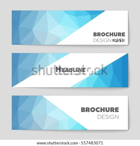 Abstract vector layout background set. For art template design, list, page, mockup brochure theme style, banner, idea, cover, booklet, print, flyer, book, blank, card, ad, sign, sheet,, a4. #557483071