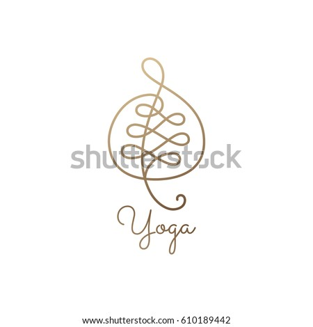 abstract vector leaf wavy