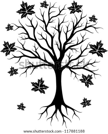 How To Draw Maple Tree