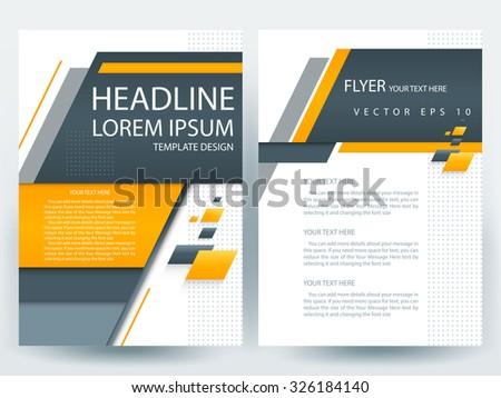 Modern Brochure Design Template Peellandfmtk - Modern brochure design templates
