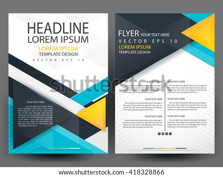 Modern Flyer Template Images Template Design Free Download