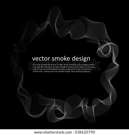 abstract vector monochrome