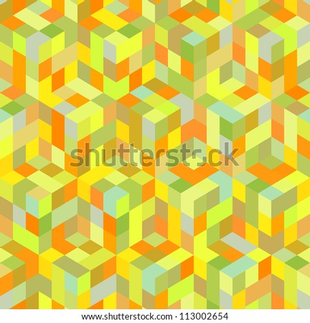 Abstract vector mosaic.