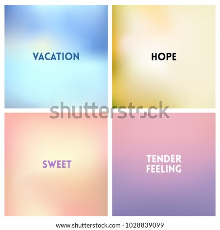 abstract vector multicolored