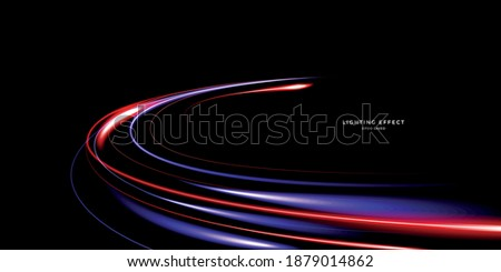 abstract vector neons wave