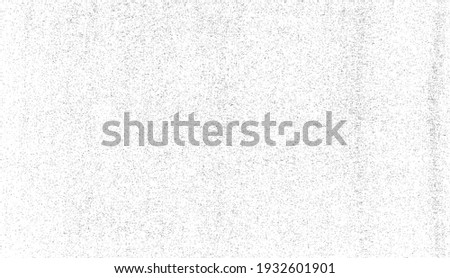 Abstract vector noise. Small particles of debris and dust. Distressed uneven background. Grunge texture overlay with rough and fine grains isolated on white background. Vector illustration. EPS10. Foto stock ©