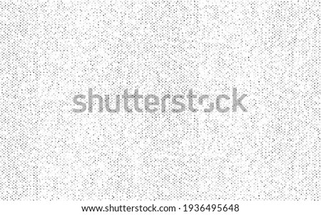 Abstract vector noise. Small particles of debris and dust. Distressed uneven background. Grunge texture overlay with rough and fine grains isolated on white background. Vector illustration. EPS10.