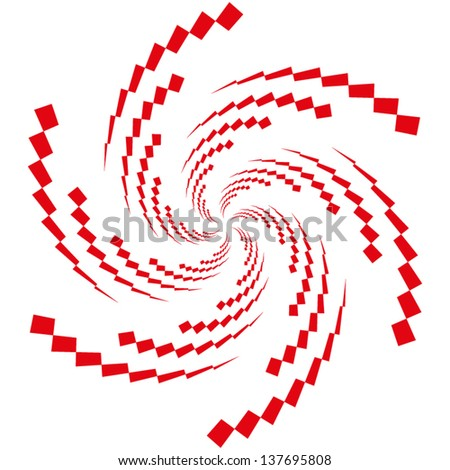 abstract vector pattern with