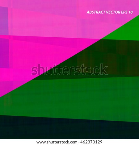 abstract vector pink and green