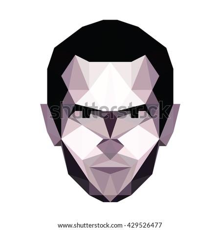abstract vector polygonal