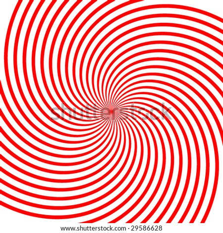 Abstract vector red vortex illustration Background
