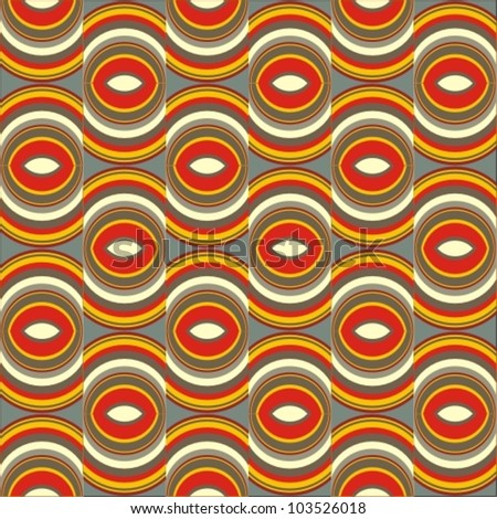 Abstract vector seamless background. Vector illustration.