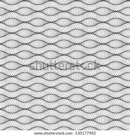 Abstract vector seamless slice pattern