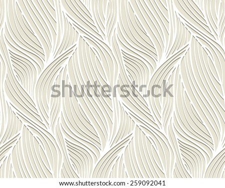 abstract vector seamless wave