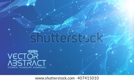 abstract vector space light