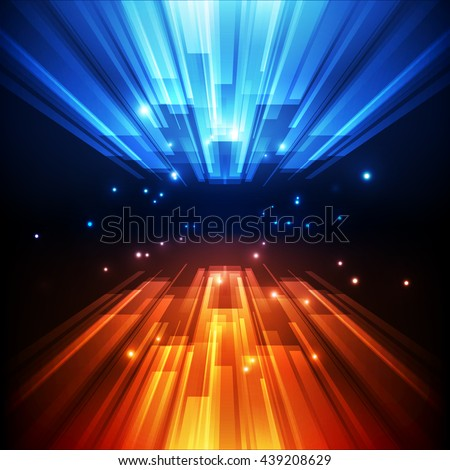 abstract vector speed technology concept background illustration