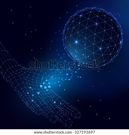a description of sphere which is about a futuristic sphere that gives a group of scientists a specia