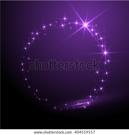 abstract vector sphere purple