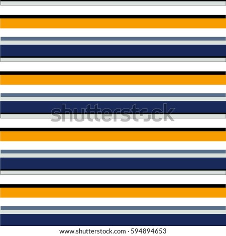 Abstract vector striped seamless pattern with colored horizontal parallel stripes. Colorful pastel background